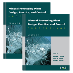 Mineral Processing Plant Design, Practice & Control