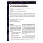 Process Development Testing for Comminution Circuit Design